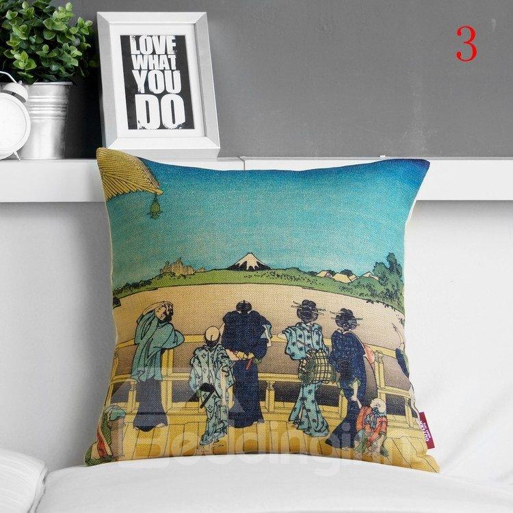 Fantastic Beautiful Scenery Print Pillowcase