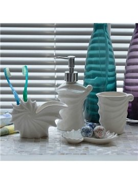 New Arrival Creative Conch and Shell Pattern Bathroom Accessories