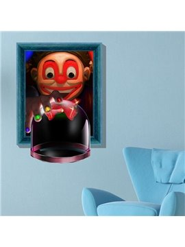New Arrival Gorgeous 3D Magic Cup Wall Sticker