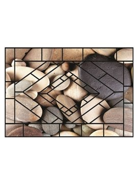 Simple Amazing Cobblestones Pattern Non-slip Doormat