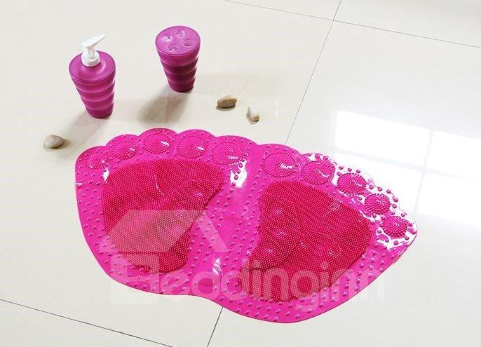 Modern Style Amazing Feet Design Non-slip Bath Rug