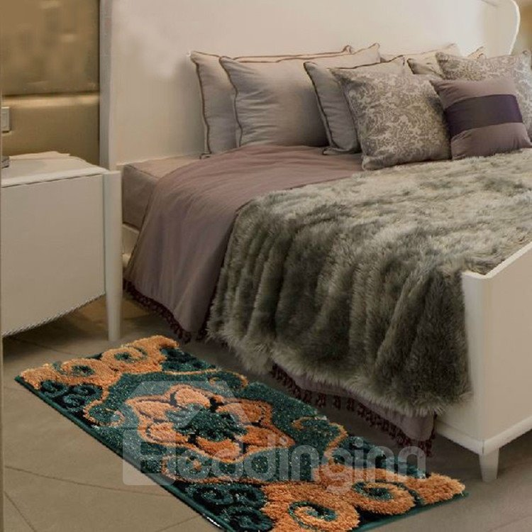 Amazing Floral Patterns Super Soft Water Absorption Non-slip Area Rug