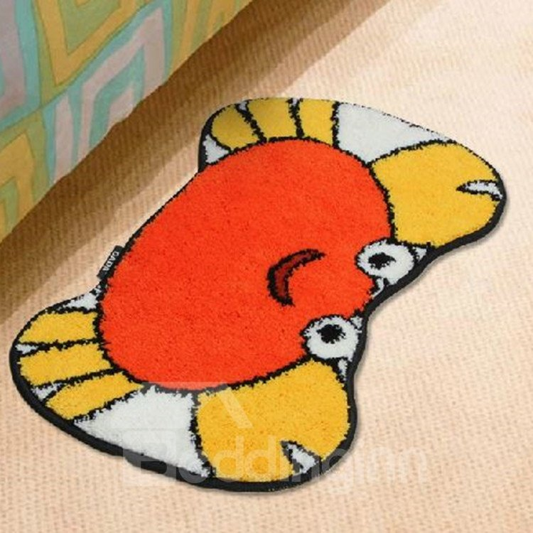 Super Cute Cartoon Crab Non-slip Doormat