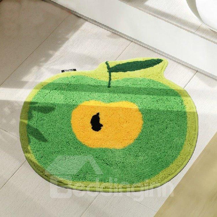 Super Cute Apple Pattern Non-slip Doormat