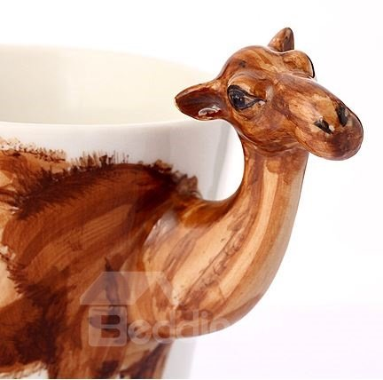 Amazing Creative Camel Design Ceramic Hand Painting Cup