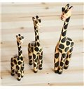 Elegant Pastoral Style Creative Three-piece Giraffes Ornament