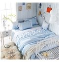 High Quality Sweet Princess Style 4-Piece Cotton Duvet Cover Sets