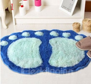 Amazing Creative Cartoon Feet Pattern Design Mat