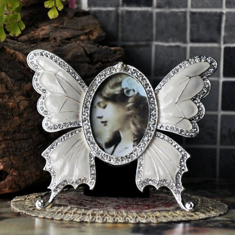 Hot Selling Classic Baroque Style Butterfly Design Photo Frame