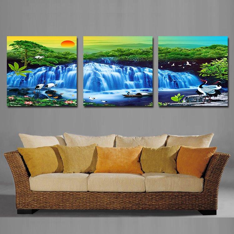 Fancy Beautiful Scenery Film Art Wall Prints