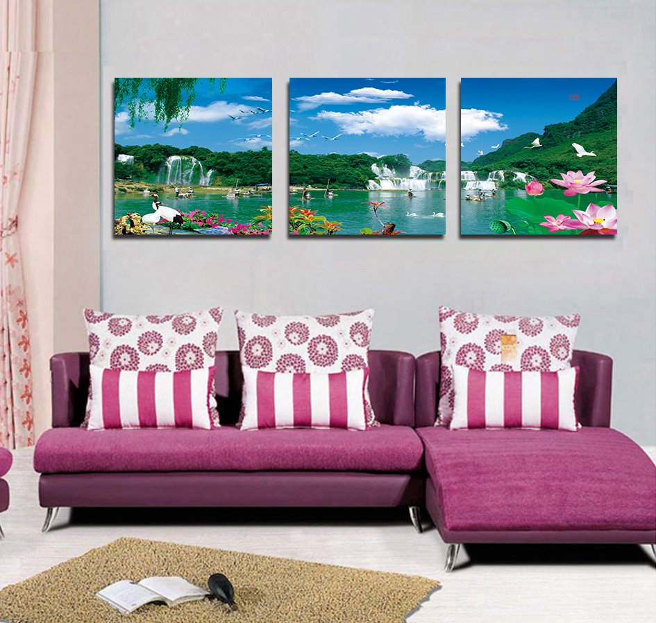 Hot Selling Fantastic Scenery Film Art Wall Prints