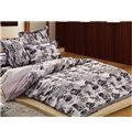 New Arrival Popular Cars Cotton 4-piece bedding sets