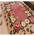 Hot Selling Elegant Pretty Floral Patterns Non-slip Doormat