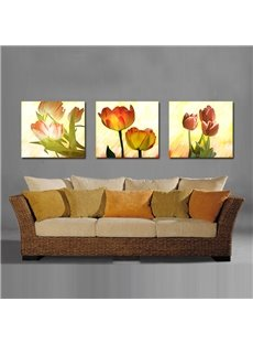 Pretty Elegant Tulip Film Art Wall Prints
