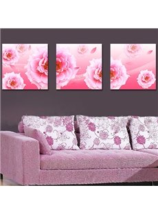 Quality Gorgeous Pretty Pink Flowers Film Art Wall Prints