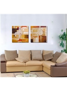 Fancy Abstract Geometric Figure Film Art Wall Prints