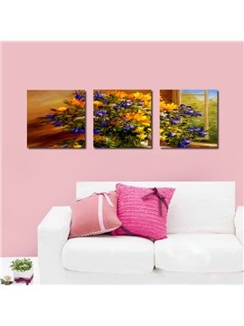 Vivid Beautiful Flowers Film Art Wall Prints