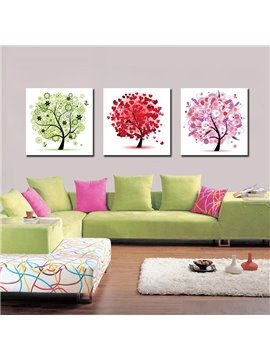 Fancy Cute Tree Film Art Wall Prints