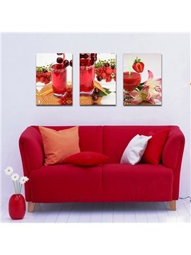 Beverage Fresh Fruit and Amazing Flowers Film Art Wall Prints