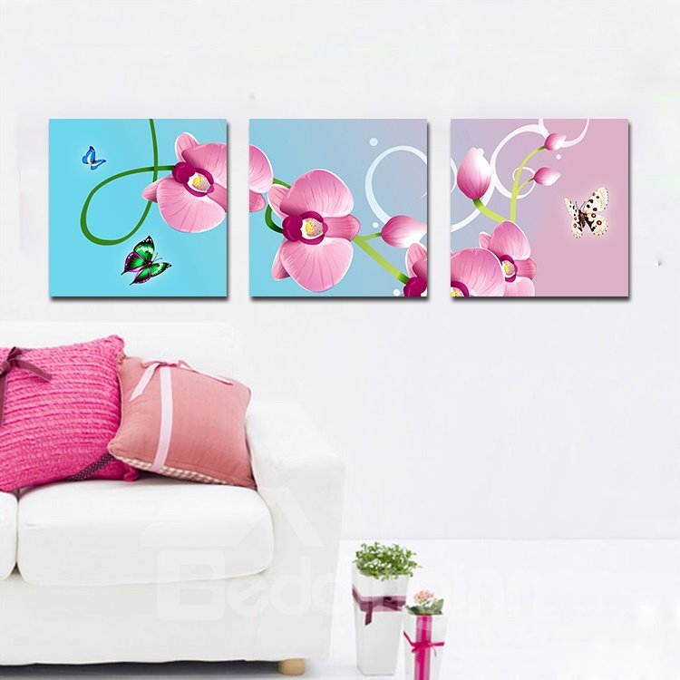 Adorable Lovely Flowers Film Art Wall Prints