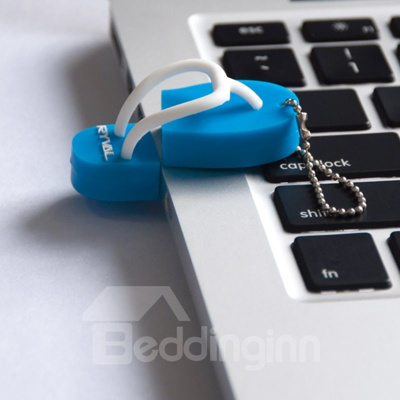 Unique Design Slipper Shaped USB Flash Drive