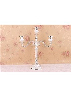 New Style Fashion European Simple Gorgeous 3-Heads Wedding Candle Holders