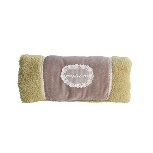 Quality Velveteen Fashion Design Light Green Hand Warmer Pillow