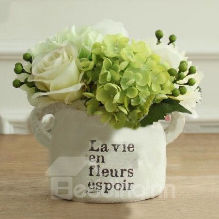 Top Quality Wonderful Home Furnishing Decoration Whole Pantana Hydrangea Flower