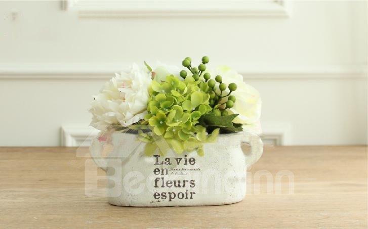 Best Selling Fantastic Silk Cloth Artificial Hydrangea Flower