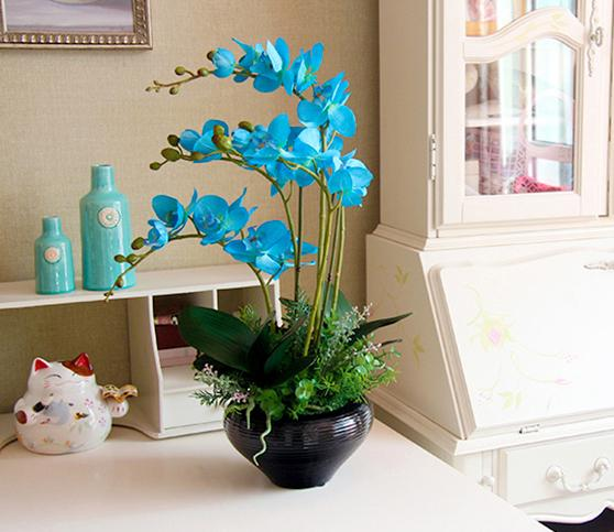 Top Quality Fantastic Simulation Silk Cloth Moth Orchid