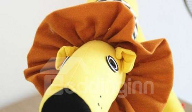 Super Lovely Creative Cartoon Lion Design Floor Lamp