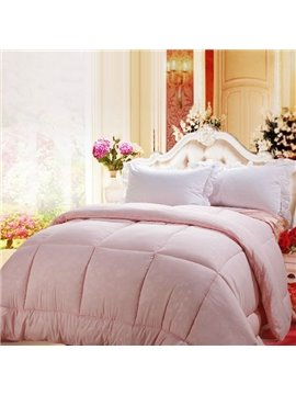 Hot Sell Quality Light Pink Comfortable Skincare Quilt