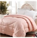 Quality Adorable Light Pink Heart Shape Comfortable Skincare Quilt
