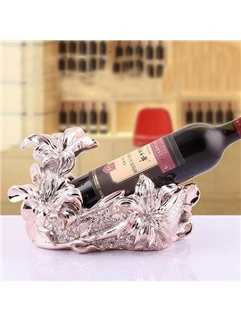 New Arrival Wonderful European Pink Gold Plating Lily Wine Rack