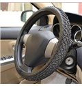 New Style Solid Color Ice Silk Car Steering Wheel Cover
