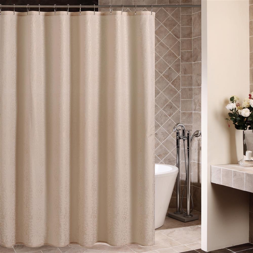 High Quality Fashion Modern Camel Color Shower Curtain - beddinginn.com