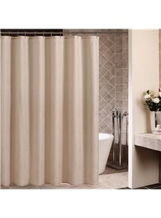 High Quality Fashion Modern Camel Color Shower Curtain