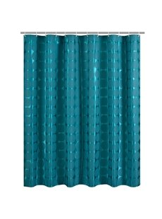 New Arrival Unique Fashion Blue Polyester Shower Curtain