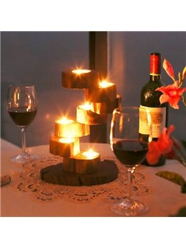 New Arrival Amazing Creative Wooden Candle Holder