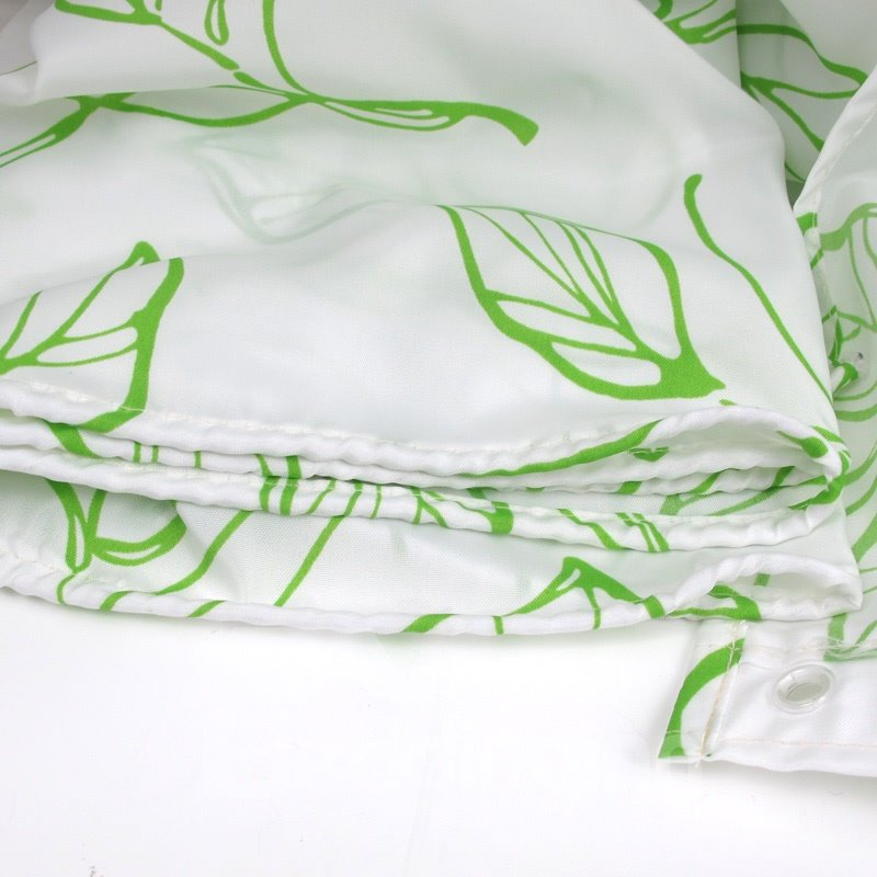 Hot Selling Pretty Elegant Leaves Printing Shower Curtain