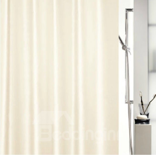 New Arrival Pure Color Concise Design Shower Curtain