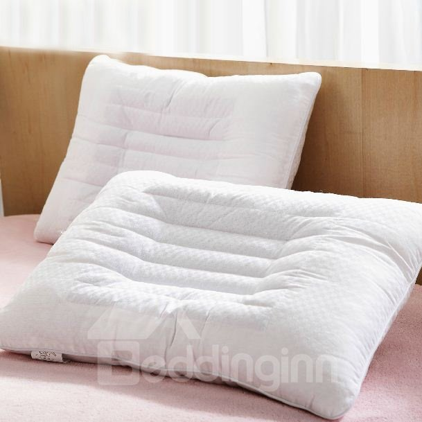 Quality Cassia Seed Inside Full Cotton Bed Pillow