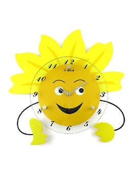 Simple Style Fancy Creative Cartoon Wall Clock
