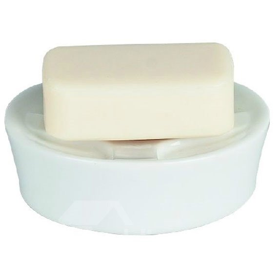 New Style High Quality Concise Ceramic Design Soap Box
