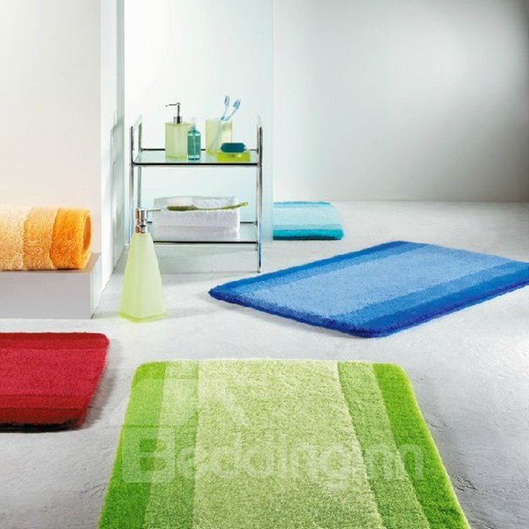 New Arrival Fancy Simple Style Bathroom Mat