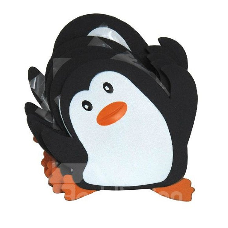 New Arrival Cute Penguin 5-piece Anti-slip Stick