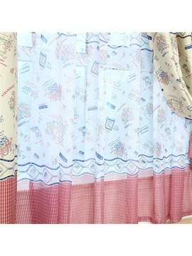 Modern Home Fashion Stylish Custom Sheer Curtain