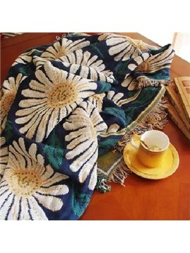 Fancy Oil Painting Amazing Sunflower Print Blanket