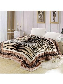 Deluxe European Style Raschel Super Soft Blanket