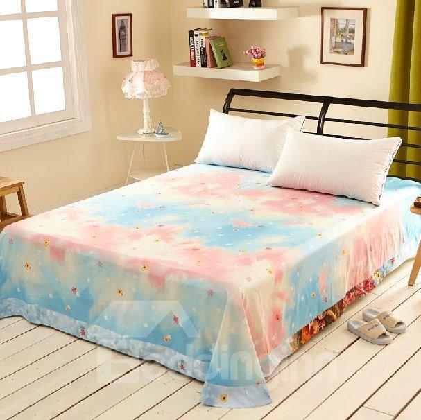 Gorgeous Vibrant Mole World Print Full Cotton Sheet